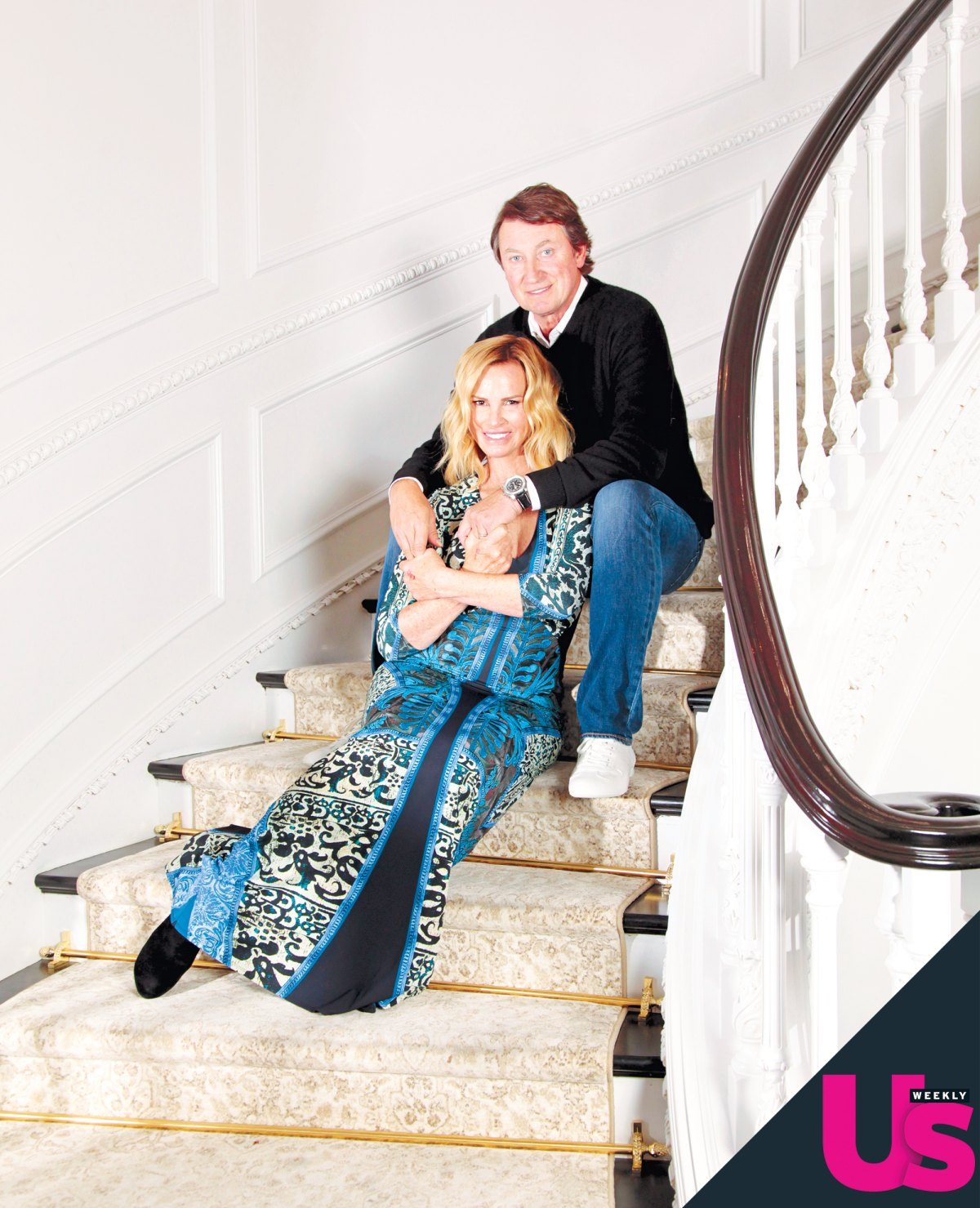 Wayne Gretzky Gives Tour Of His Home And Life With Wife Janet
