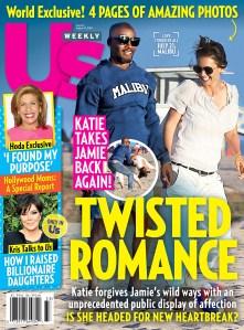 Us Weekly cover Jamie Foxx Katie Holmes