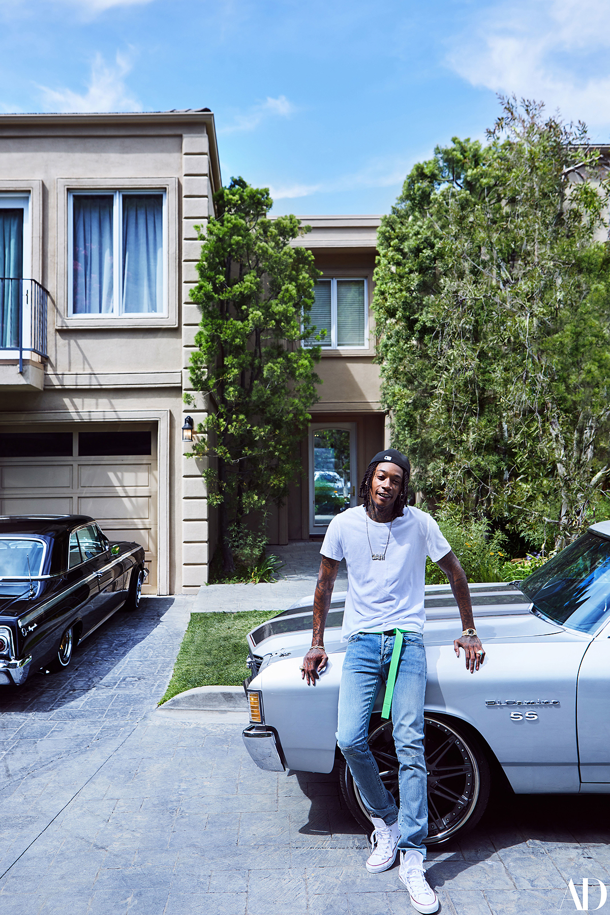 Wiz Khalifa's Mansion Is Tricked Out for Son Sebastian ...