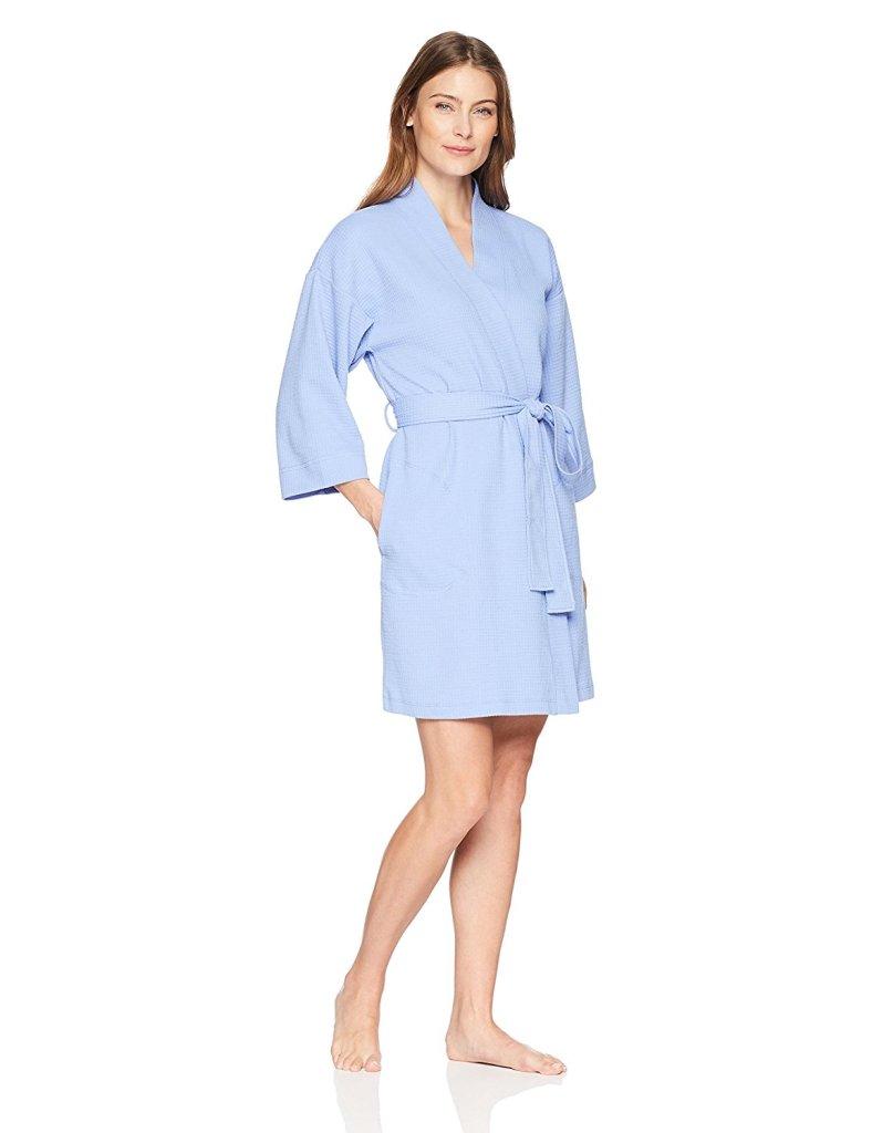 comfy blue robe amazon prime deal