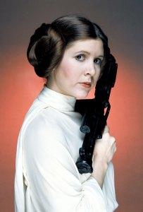 Carrie Fisher Princess Leia star wars movie