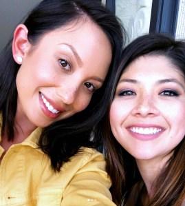 Cheryl Burke and her sister