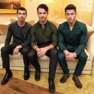 Jonas Brothers Joe Jonas Nick Jonas Kevin Jonas