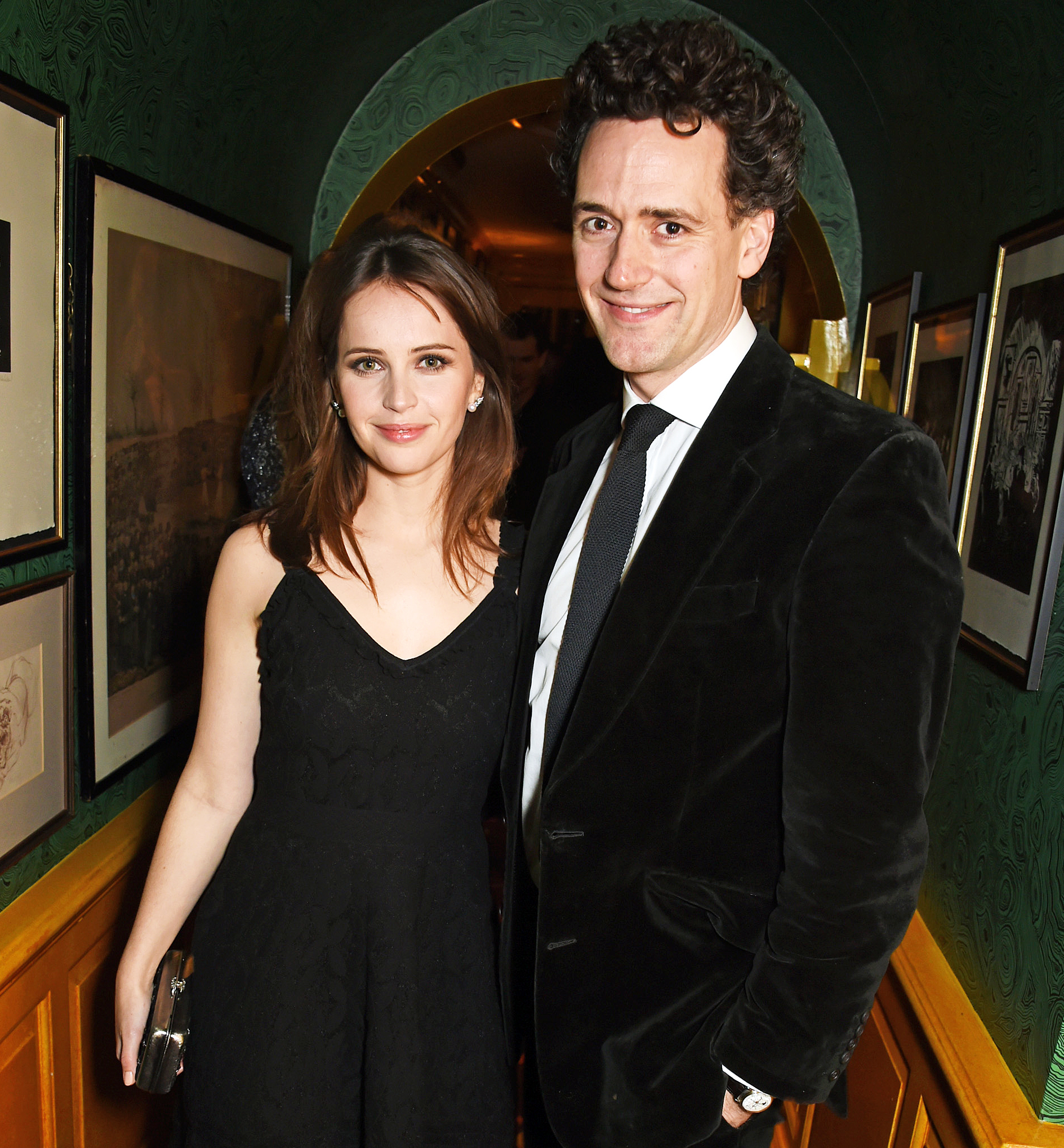 Felicity Jones Charles Guard Married