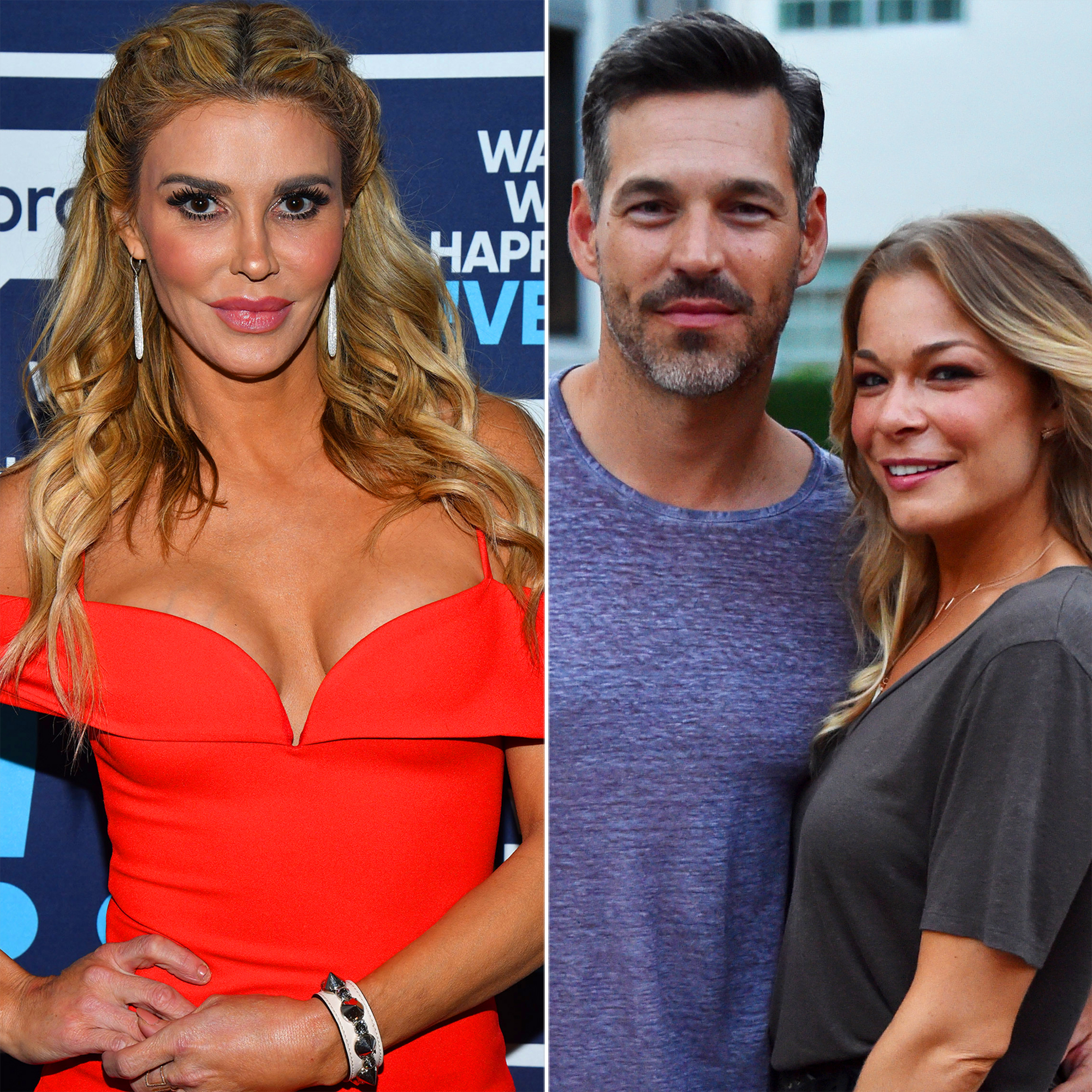 Revisit Brandi Glanville's Feud With Eddie Cibrian and LeAnn Rimes - WATCH WHAT HAPPENS LIVE WITH ANDY COHEN — Pictured: Brandi Glanville — (Photo by: Charles Sykes/Bravo/NBCU Photo Bank via Getty Images) MIAMI, FL – JULY 18: Eddie Cibrian (L) and Singer LeAnn Rimes attend the Maxim Magazine Worldwide Swimwear Collection launch at SLS South Beach on July 18, 2015 in Miami, Florida. (Photo by Fabiano […]