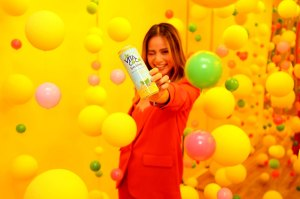 Jamie Chung Vita Coco Sparkling event diet fitness
