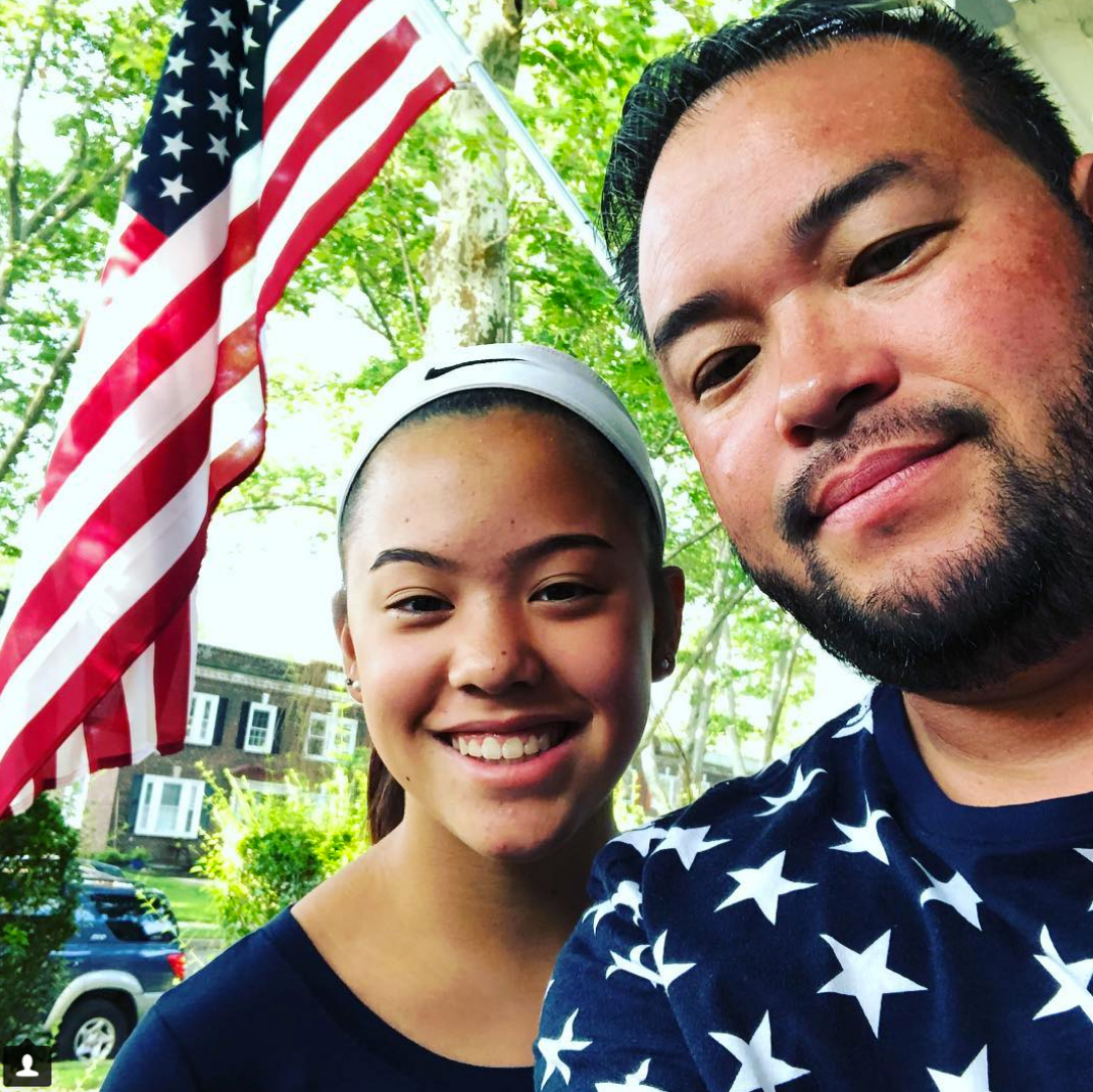 """Jon Gosselin 4th of july - Normal 0 false false false EN-US JA X-NONE /* Style Definitions */ table. MsoNormalTable {mso-style-name:""""Table Normal""""; mso-tstyle-rowband-size:0; mso-tstyle-colband-size:0; mso-style-noshow:yes; mso-style-priority:99; mso-style-parent:""""""""; mso-padding-alt:0in 5.4pt 0in 5.4pt; mso-para-margin:0in; mso-para-margin-bottom:.0001pt; mso-pagination:widow-orphan; font-size:12.0pt; font-family:Arial; mso-bidi-font-family:""""Times New Roman""""; mso-bidi-theme-font:minor-bidi; mso-ansi-language:EN-US;} The former reality TV star shared a pic with his 14-year-old daughter."""
