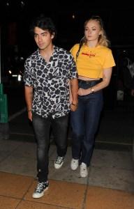 Joe Jonas and his girlfriend Sophie Turner