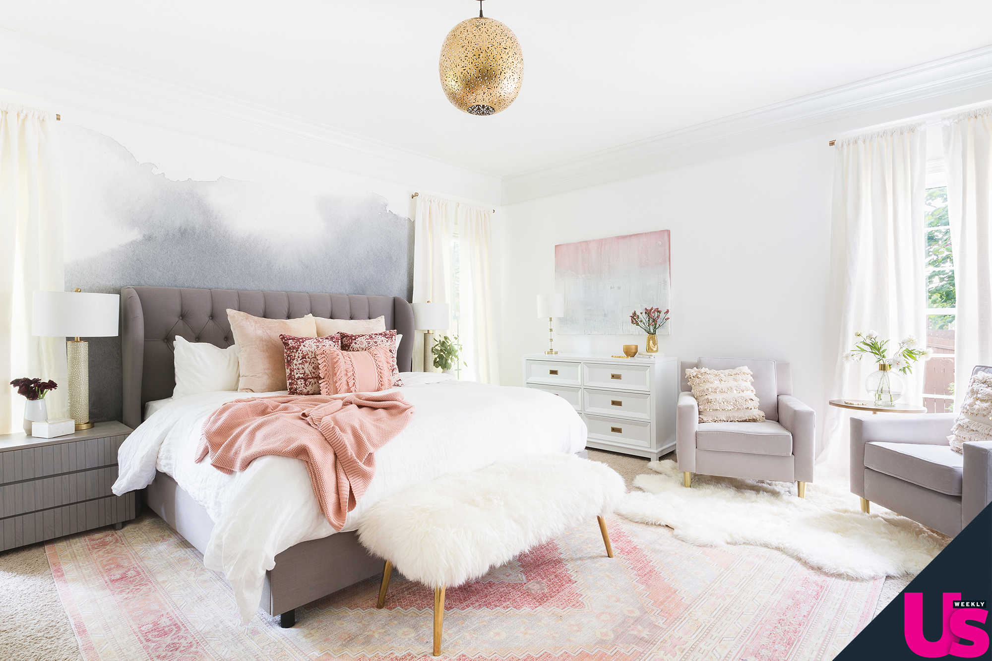 . Kaitlyn Bristowe  Shawn Booth Unveil  Chic  Home Redesign  Photos