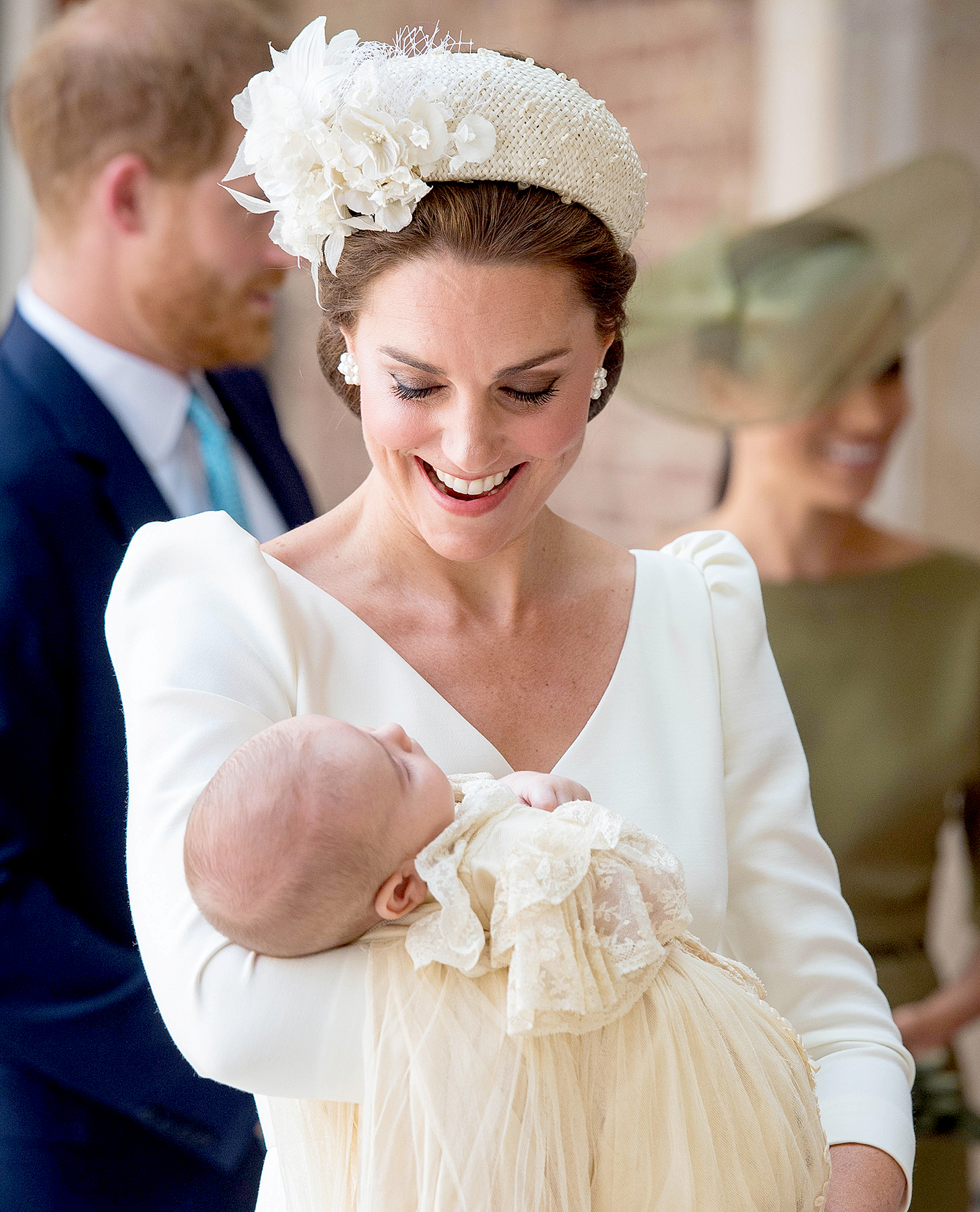 Prince Louis's Christening Had a Sweet Connection to Princess Diana & Here's Why