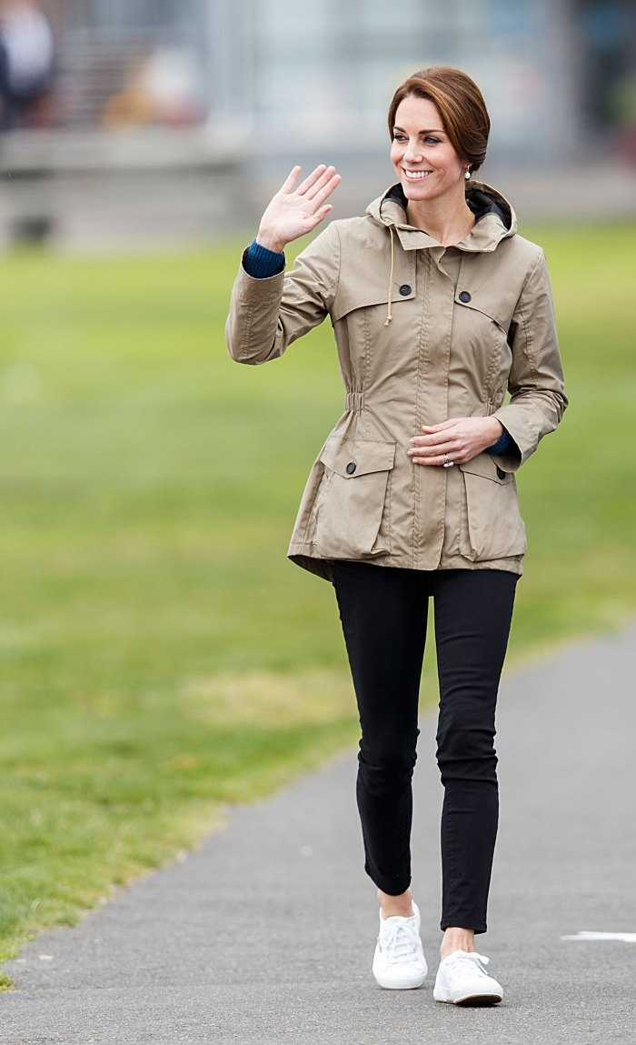Kate Middleton style superga cotu sneakers