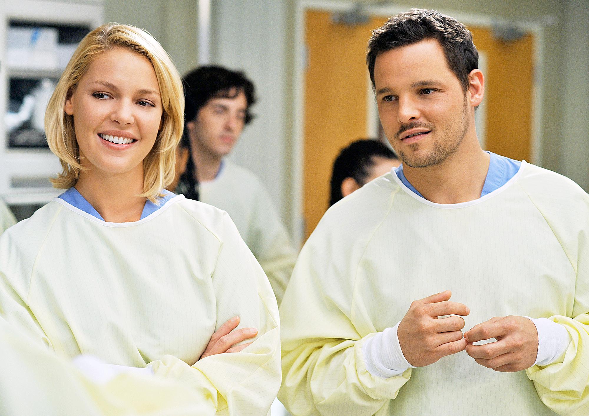 Katherine Heigl Justin Chambers Grey's Anatomy