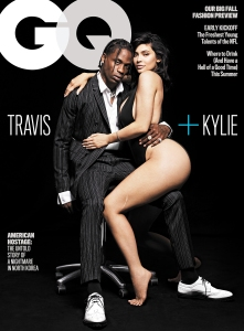 Travis Scott Kylie Jenner Leg Scar GQ Cover