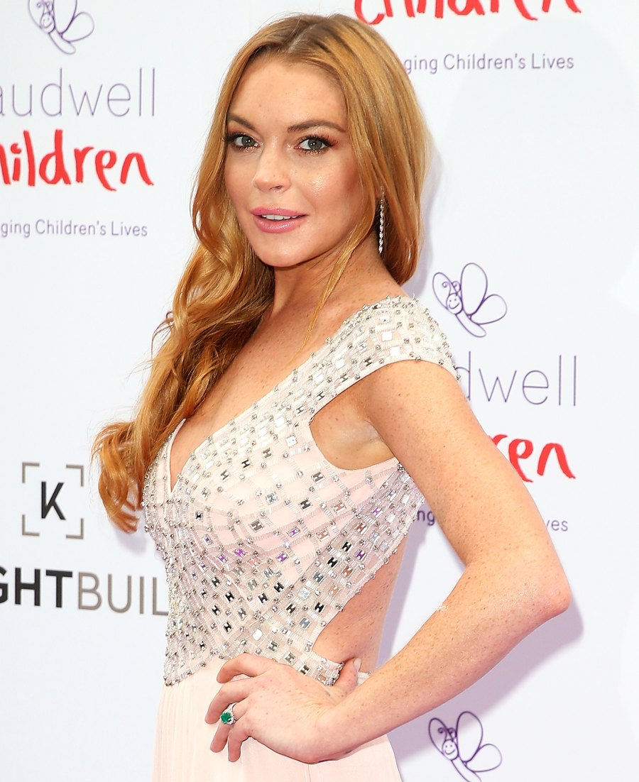 Celebs Who Have Been Accused of Faking Accents Lindsay Lohan