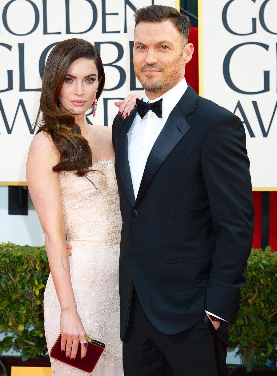 On Again, Off Again Celebrity Couples Megan Fox Brian Austin Green