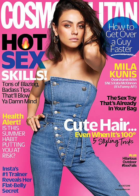 Mila Kunis Cosmopolitan cover