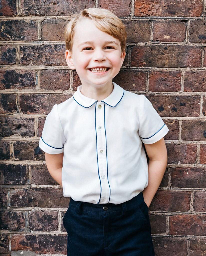 Prince George Fifth Birthday