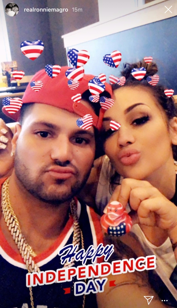 Ronnie Ortiz-Magro Jen Harley Everything We Know 4th of July