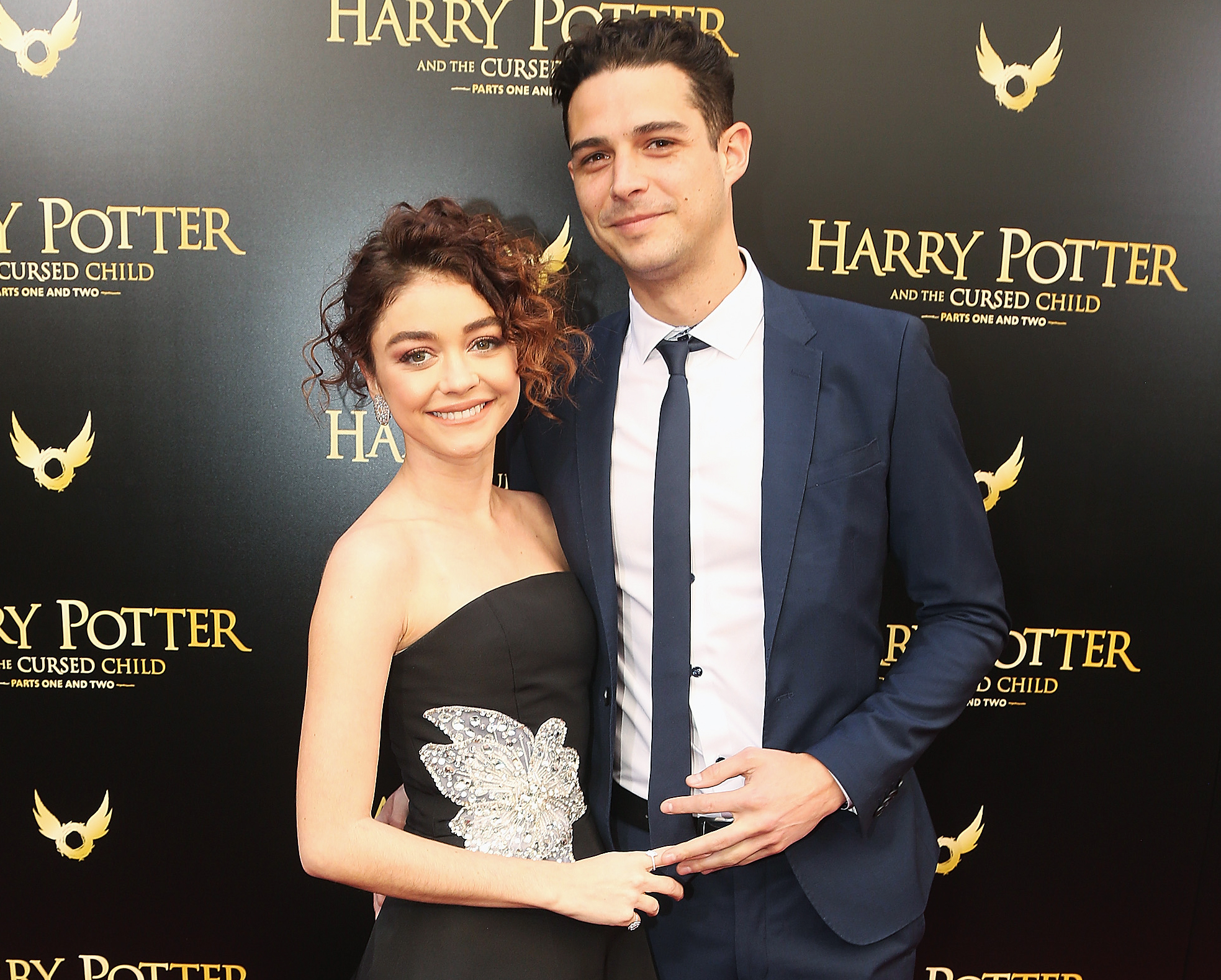 Sarah Hyland Wells Adams Move In Together
