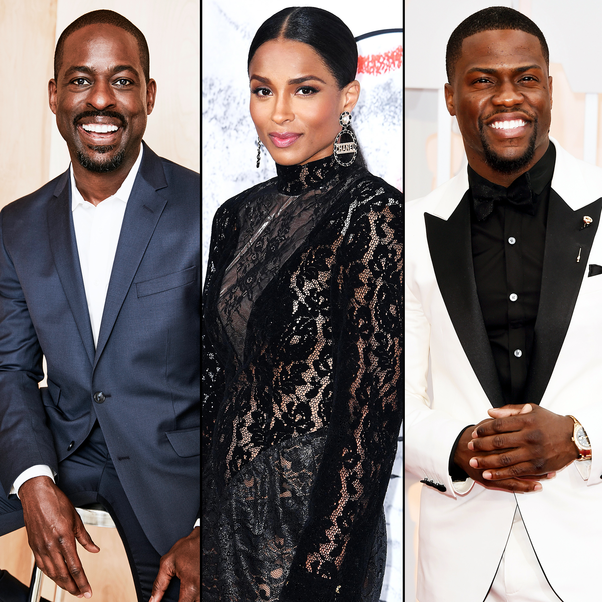 Sterling K Brown Ciara Kevin Hart