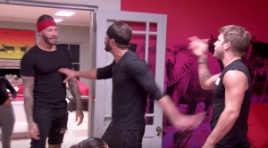 Paulie Calafiore and Kyle Christie fight over Cara Maria Sorbello