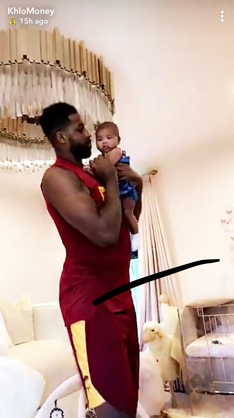 Tristan Thompson True Thompson Dancing