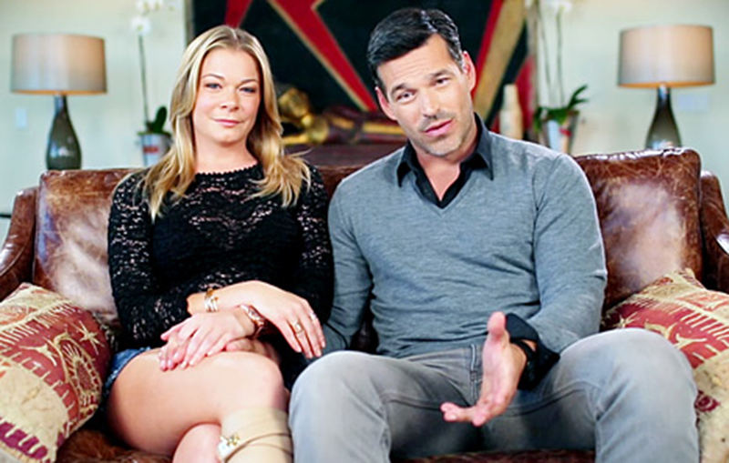 """Revisit Brandi Glanville's Feud With Eddie Cibrian and LeAnn Rimes - It didn't take long for Rimes and Cibrian to bring up Glanville on their short-lived reality show, LeAnn & Eddie . """"Look, everyone thinks they really know how it is with us, but there are two sides to every story and this is ours,"""" the Invasion star said during the introduction before the musician said they're just """"trying to figure out how to navigate this family … that's highly publicized."""""""