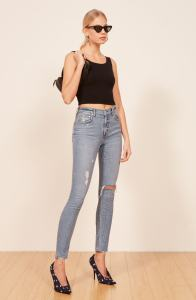 Reformation High and Skinny Jeans
