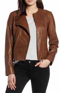 halogen leather jacket-1