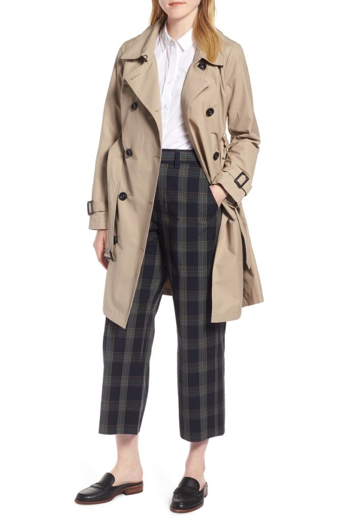 1901 3-in-1 Trench Coat with Vest