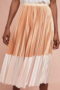 Cheri Pleated Skirt