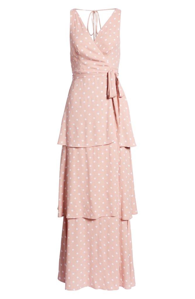AFRM Rosa Wrap Maxi Dress 1