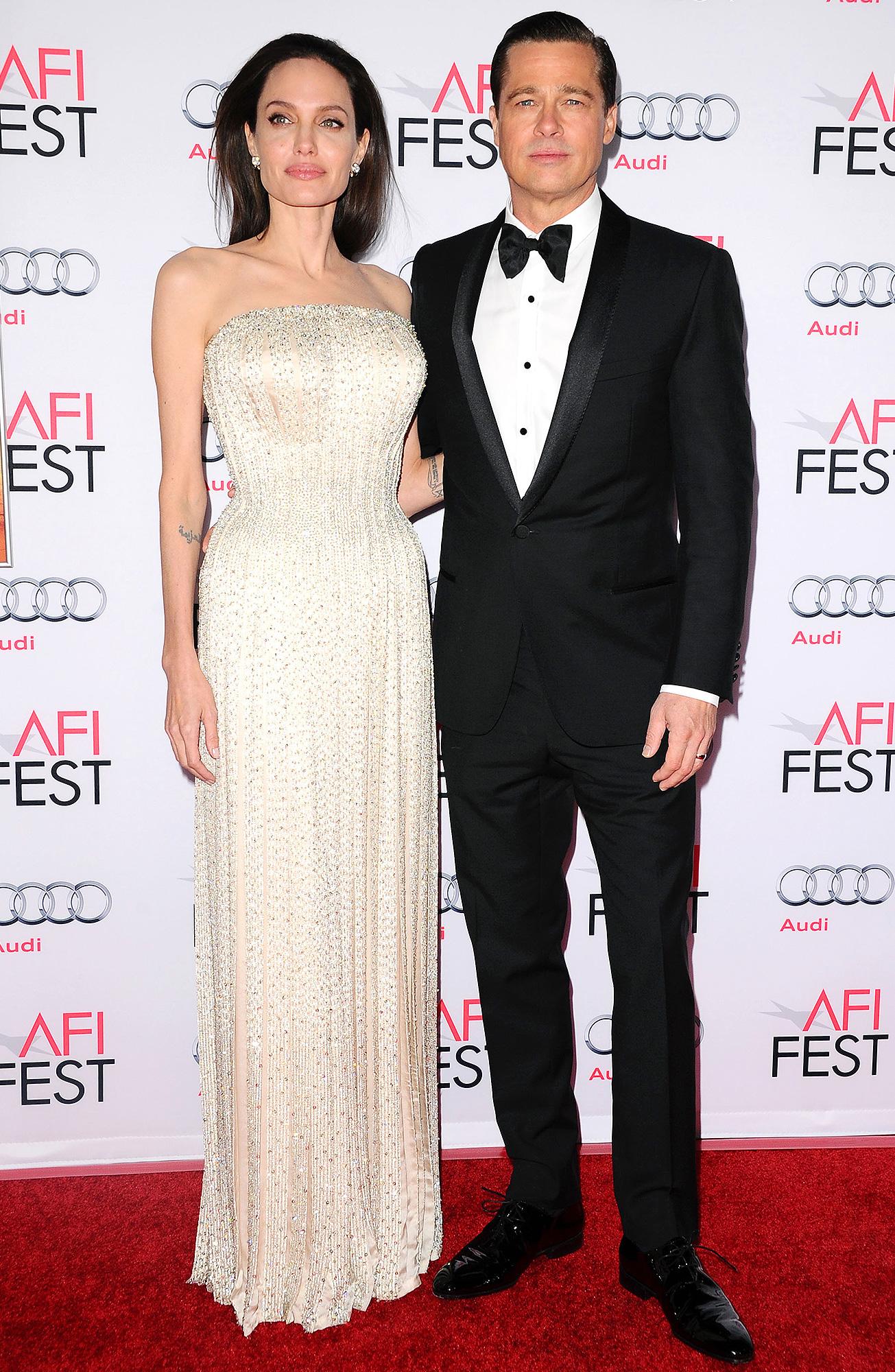 Angelina Jolie, Brad Pitt, Custody