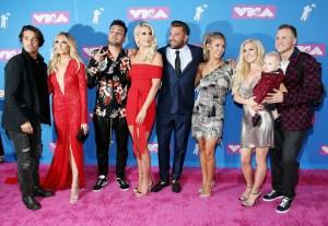 Justin Bobby Audrina Patridge The Hills Reunion VMAs 2018