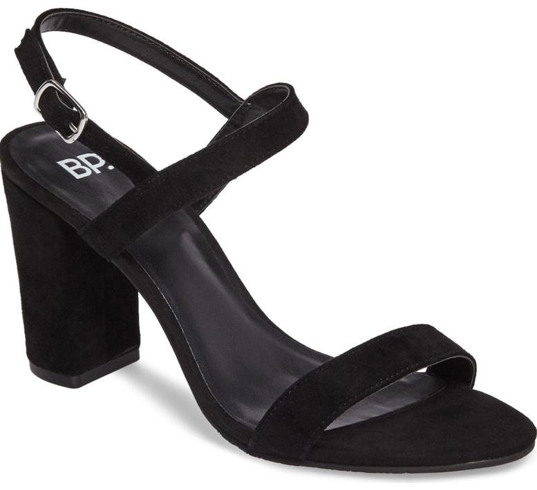 black slingblack heels nordstrom