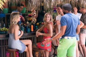 Bachelor in Paradise, Episode 501. Chelsea, Wells, Kendall, Joe and Eric.