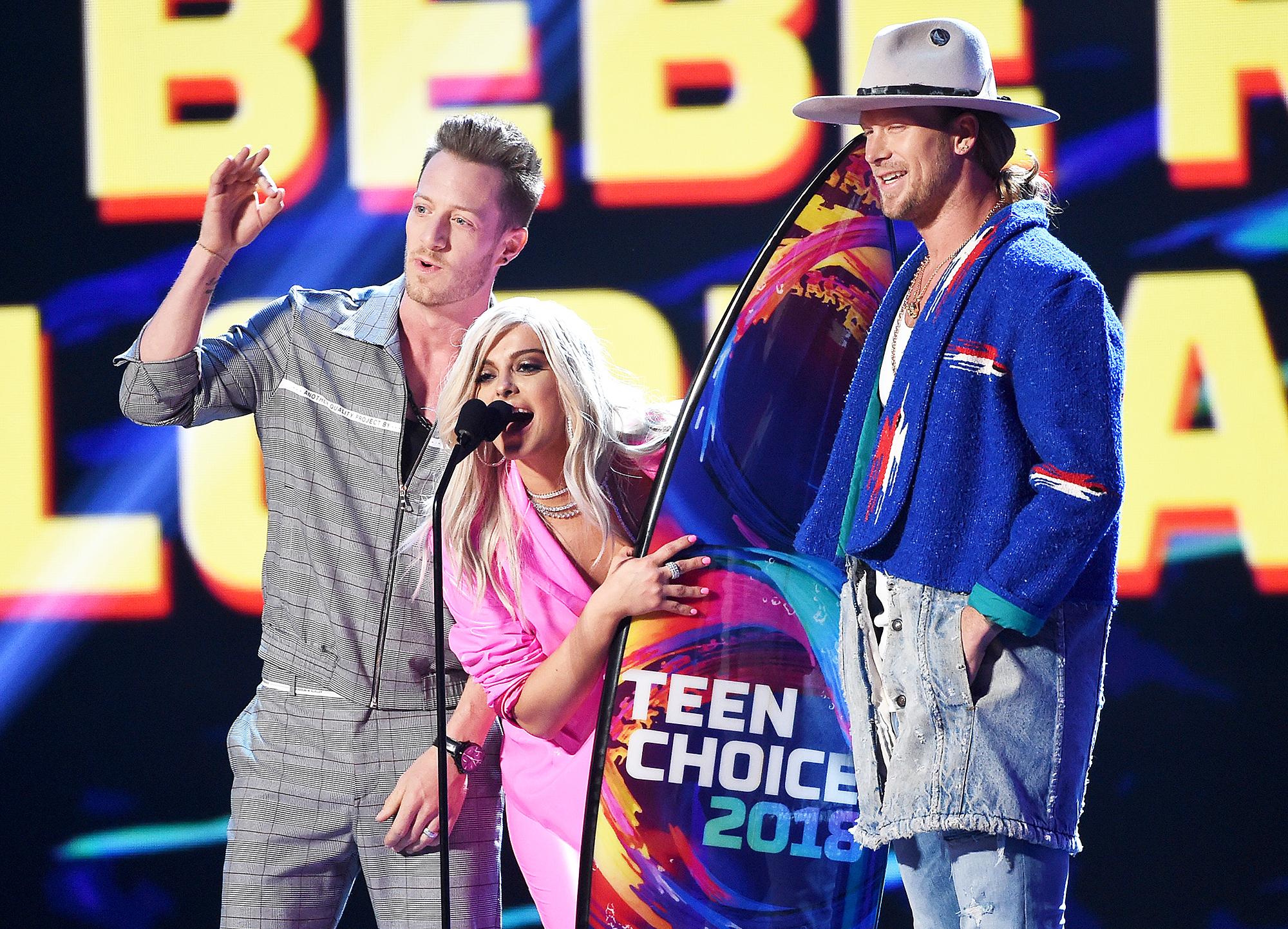 Bebe Rexha Teen Choice Awards 2018