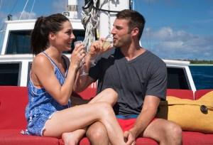Becca Kufrin and Garrett Yrigoyen