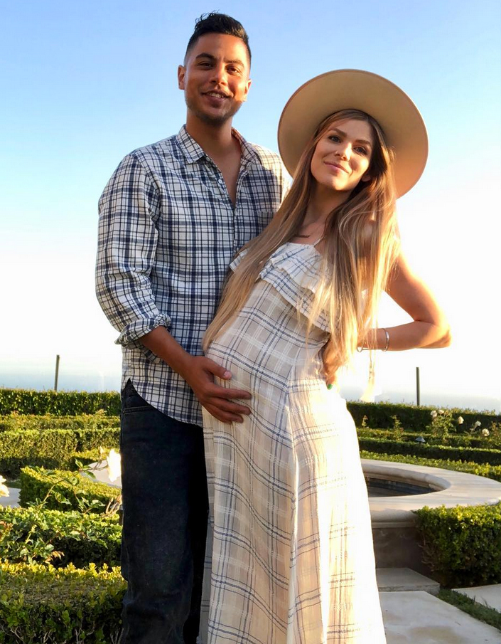 """Dani-Briones-dominic-big-brother-baby - The season 13 Big Brother alums welcomed their first child — daughter Tennessee Autumn Briones — on August 20. """"God is amazing and I couldn't feel luckier than I do right now. The best birthday present anyone could ever ask for,"""" Donato captioned an Instagram pic of the newborn at the time."""