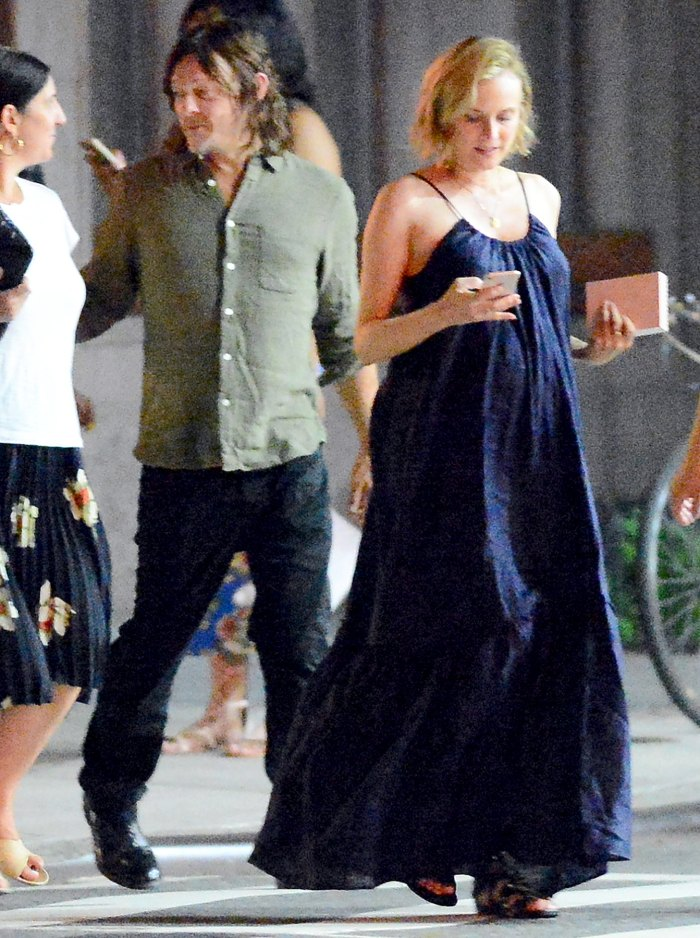 Diane-Kruger-and-Norman-Reedus-pregnant