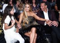 VMAs 2018 What You Didn't See Emme Maribel Muniz Jennifer Lopez Alex Rodriguez