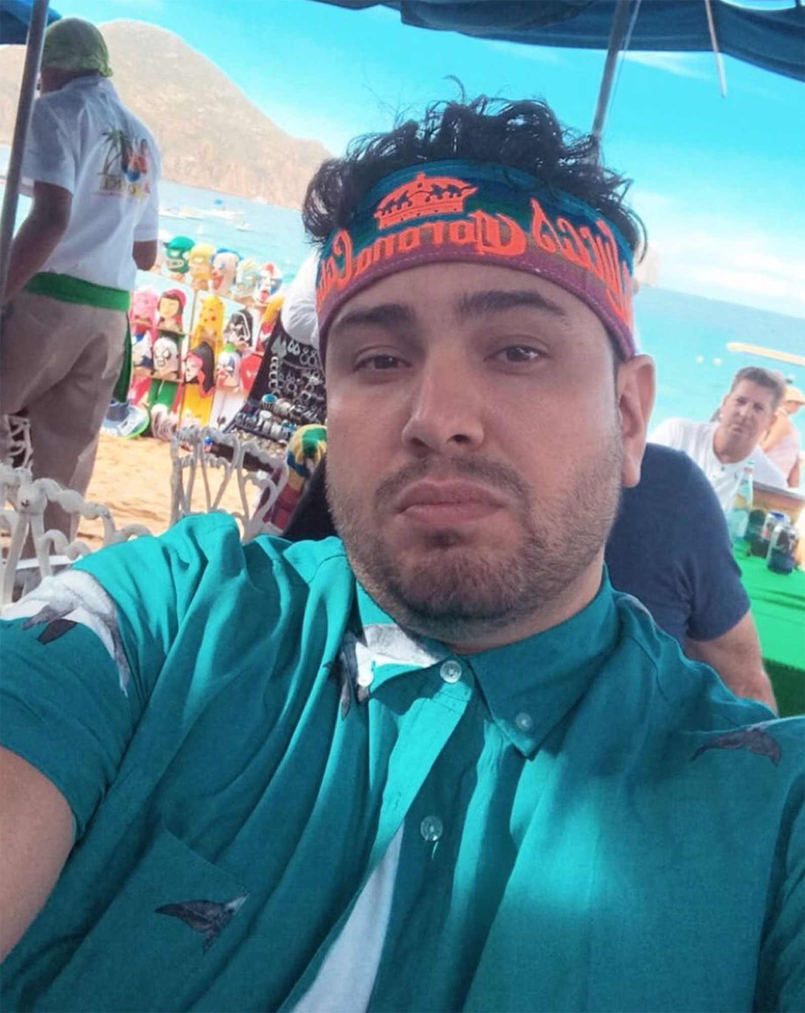 """frankie delgado - """"After high school I started a spring break company and we organized buses from different colleges in California to take students to Tijuana on the weekends,"""" he said. """"It was a fun experience for me to get into party life and nightlife."""""""