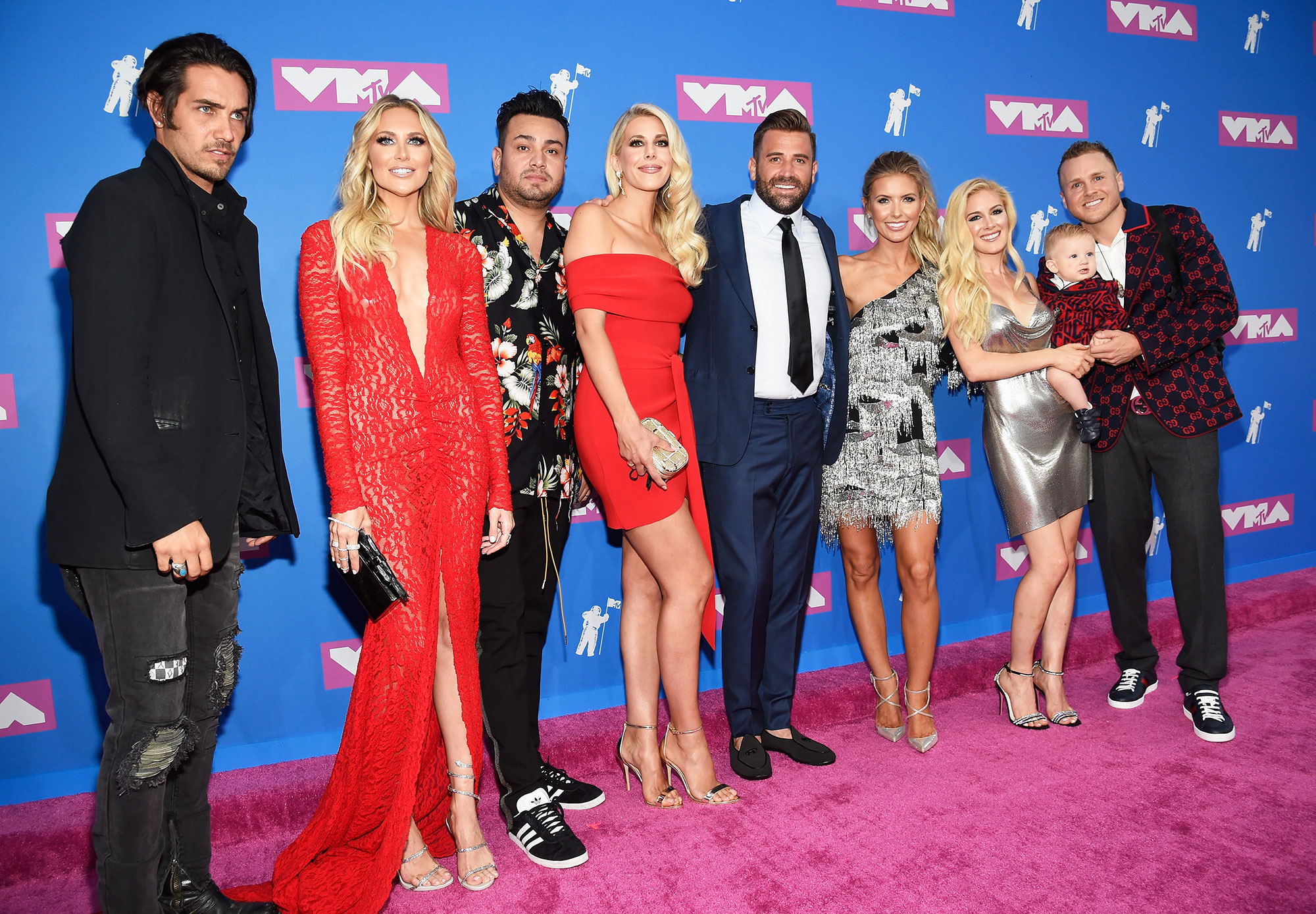 """frankie delgado the hills VMAs 2018 - Delgado is looking forward to showing more of his life on The Hills: New Beginnings . """"Me and my family have our own fun and own little world, so you're going to see some of that stuff and it's going to be real and family focused,"""" he said."""