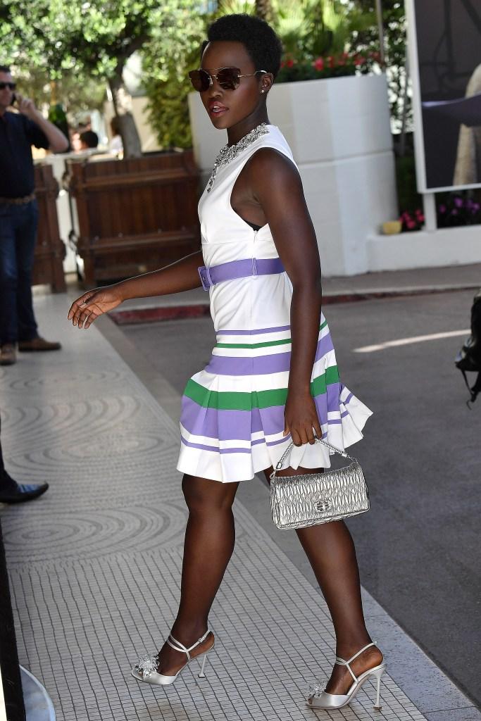 lupita drop waist dress style