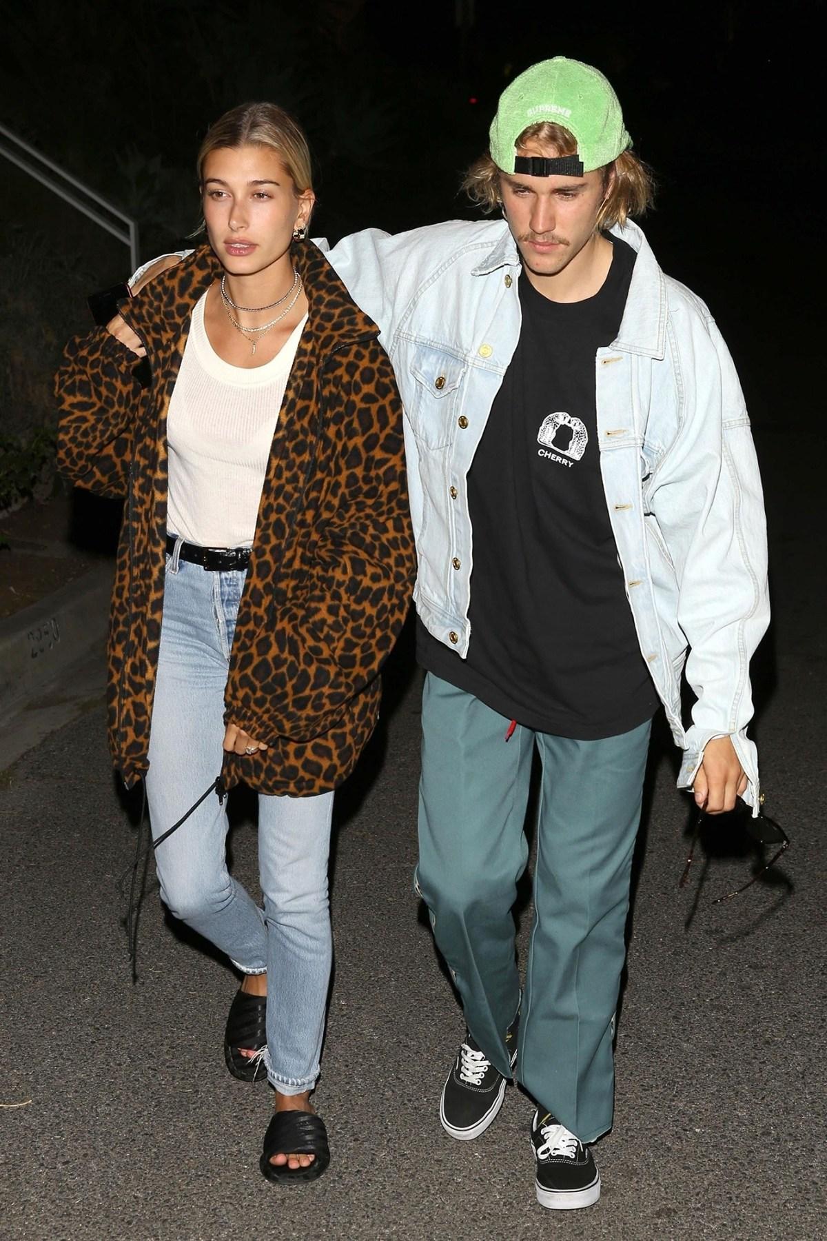 67d32d5325d Justin Bieber and Hailey Baldwin s Best Couples Fashion Moments  Pics