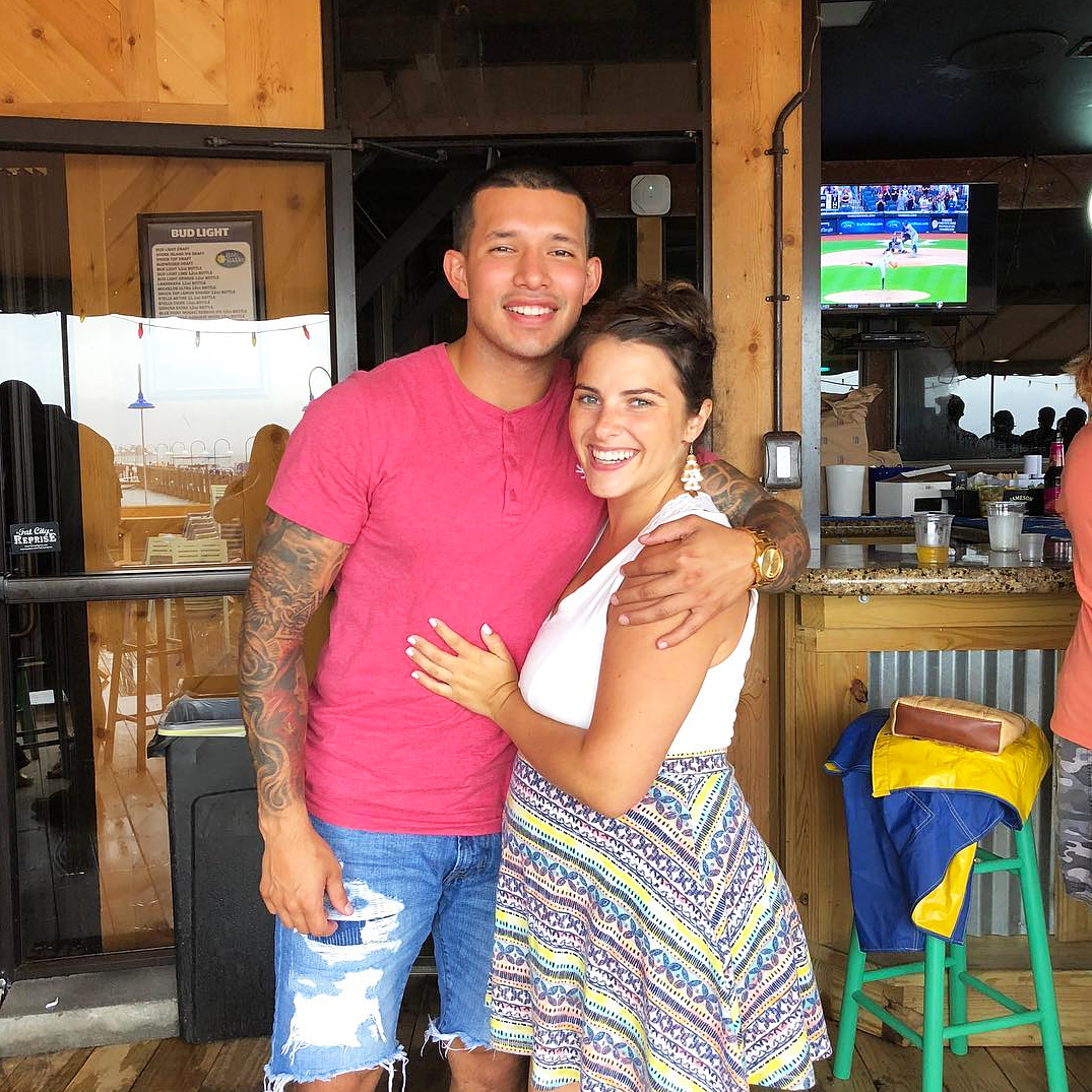 Javi Marroquin Lauren Comeau Welcome Baby