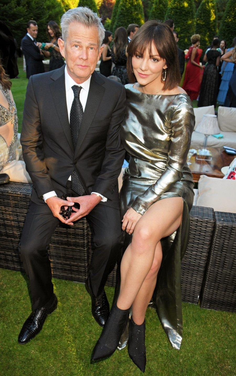 Katharine McPhee gushes over David Foster