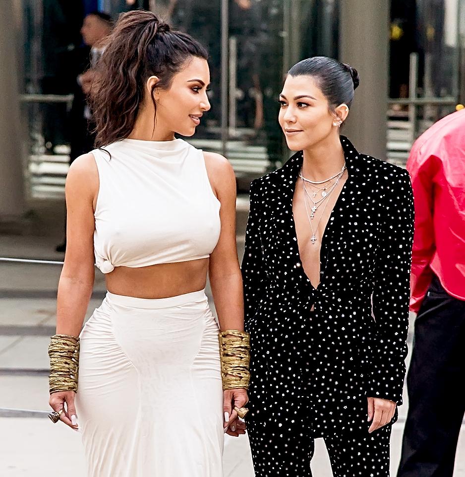 195b215f68b9 Kourtney Kardashian Admits Her  Tension  With Kim Kardashian Is  Ongoing   After  KUWTK  Argument