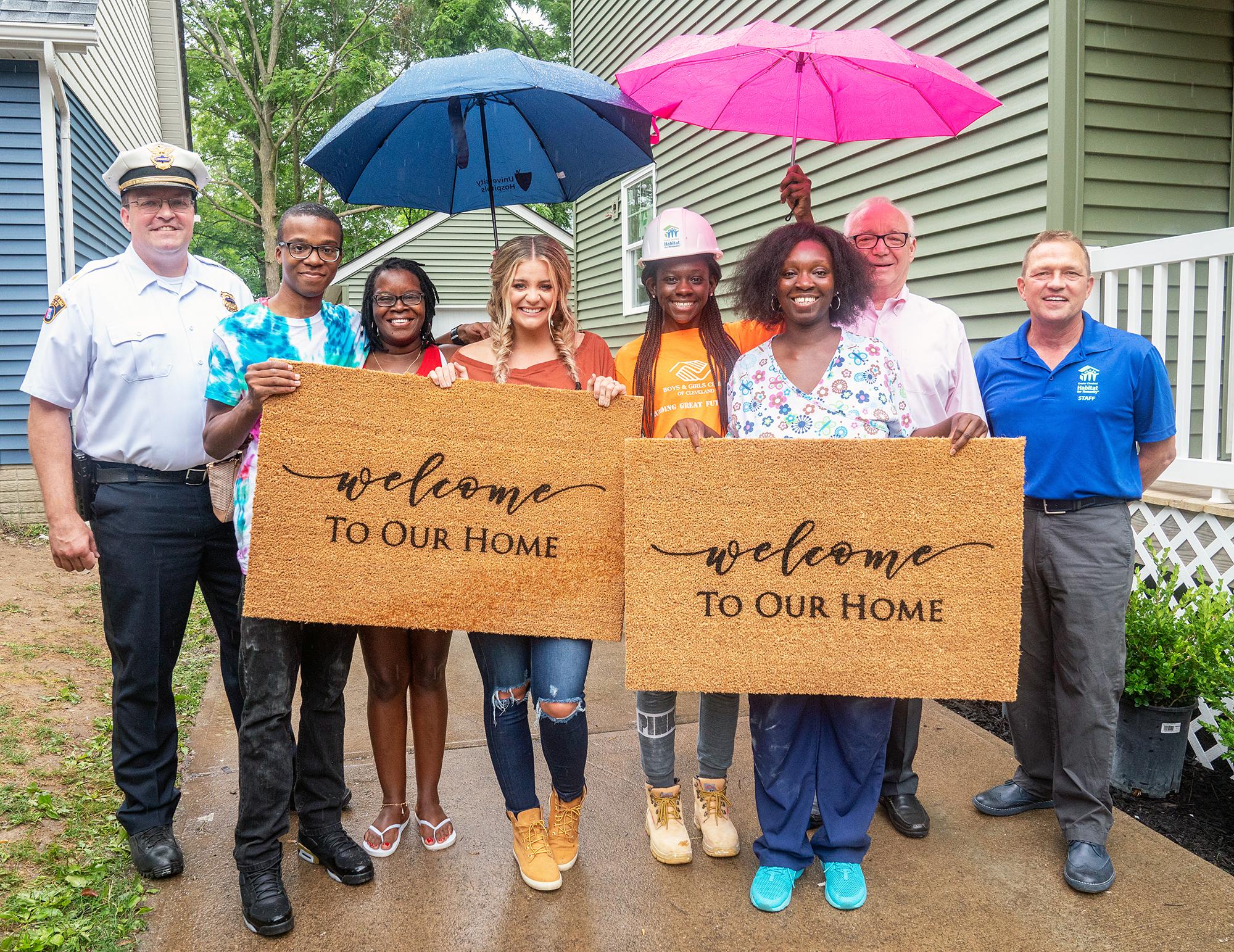 Lauren Alaina Ply Gem Habitat for Humanity Cleveland Home Renovation