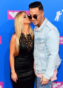 Lauren Pesce and Mike 'The Situation'